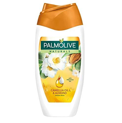 6er Pack - Palmolive Duschgel - Camellia Oil & Mandel - reich an Vitamin E - 250 ml