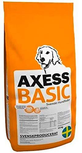 15 kg Axess Basic Hundefutter aus Schweden