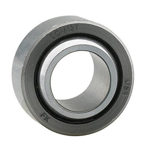 FK Bearings COM12T 3/4 Spherical Bearing with Teflon Commercial Series, 1 Pack