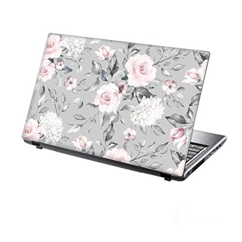 TaylorHe 13-14 inch Laptop Skin Vinyl Decal with Colorful Patterns and Leather Effect Laminate MADE IN BRITAIN Vintage Poster