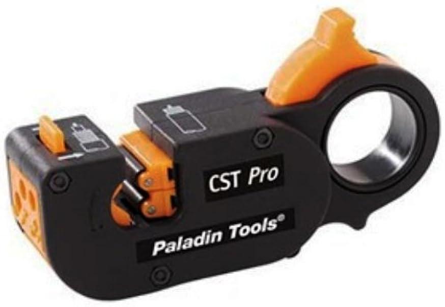 Greenlee  1281 CST Pro Coax Stripper 3 Level, Orange Cassette .327/.146