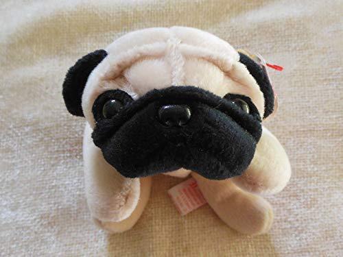TY Pugsly the Pug Dog Beanie Buddy 12' [Toy]