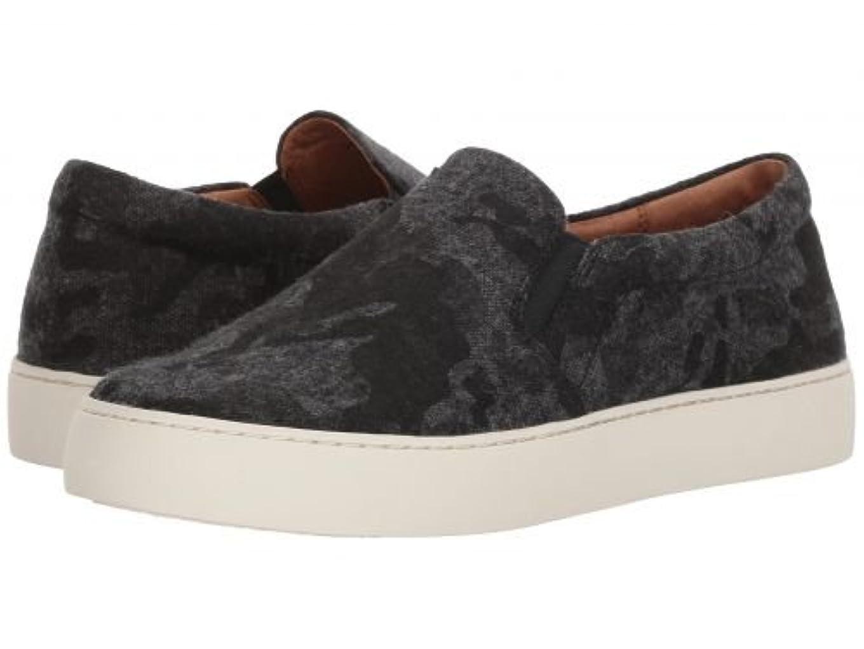 失業想定する落ち着かないFrye(フライ) レディース 女性用 シューズ 靴 スニーカー 運動靴 Lena Slip-On - Black Wool [並行輸入品]