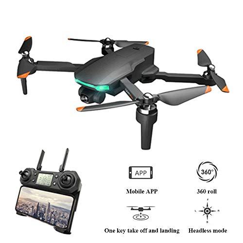 YHM UAV De Tres Cámaras De Alta Definición 4K, Resistencia Al Viento De 7 Niveles, Distancia De Control De Posicionamiento GPS Dual 3000 Metros, UAV Plegable,a