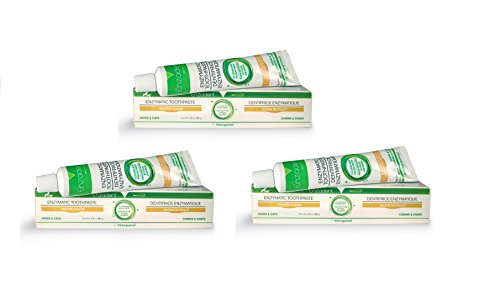 Enzadent 3 Pack Enzymatic Toothpaste for Dogs and Cats
