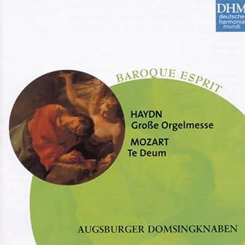 Haydn, Mozart: Grosse Orgelmesse/Te Deum