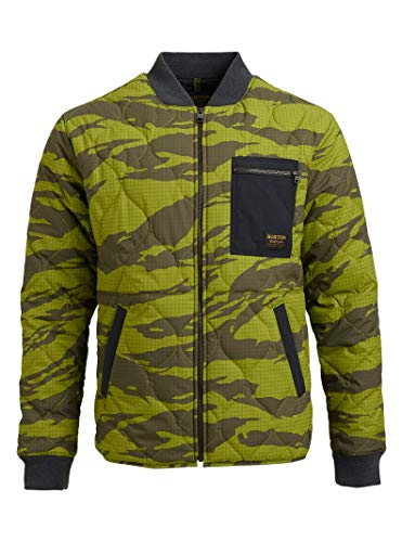 Burton Mens Mallet Jacket, Keef Tiger Rip, Small