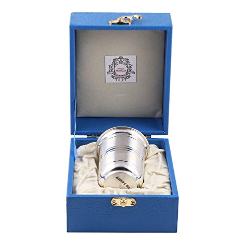 Msa Jewels - 92.5 Pure Silver Glass With BIS Hallmark Certified (43 grams)