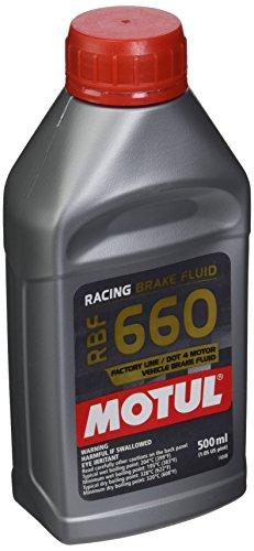 MOTUL 847205–12pk RBF 660Factory Line Dot-4100% sintético Racing–Líquido de Frenos 500ml, (, 12Unidades)
