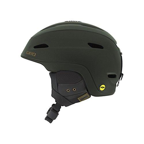 Giro Zone MIPS Snow Helmet (Matte Olive POW, Small)