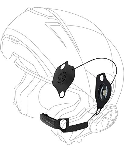 Cellularline micinterphoschu16 Kit di audio per casco SCHUBERTH/Interfono Sport/Torre/Urban