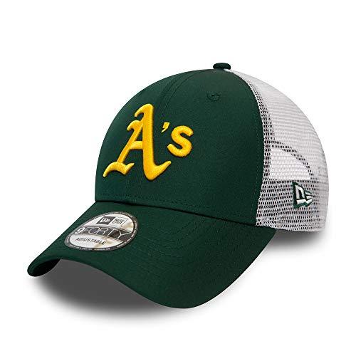 New Era Oakland Athletics MLB Cap New Era Baseball Kappe 9forty Verstellbar Basecap Grün - One-Size