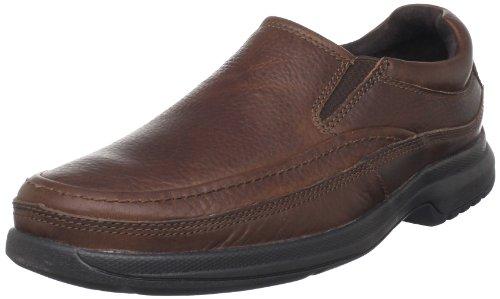 Rockport Barrows Loft Moc Slip On Hommes Marron Chaussures Mocassins EU 46