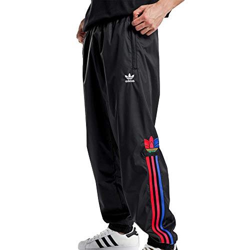adidas Originals Firebird - Pantalones deportivos para hombre - negro - Small