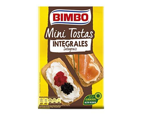 Silueta Minitostas Bimbo Integrales, 100g