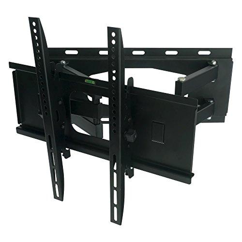 Nemaxx SK05 TV Wandhalterung für LCD LED Plasma Fernsehen Monitor neigbar/schwenkbar - max. VESA 400x400 / von 23 bis 47 Zoll bzw. 58 bis 119,4 cm - Schwarz