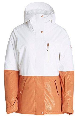 Billabong Rich Dip Damen Skijacke Bright White FR: XS (Größe Hersteller: XS)