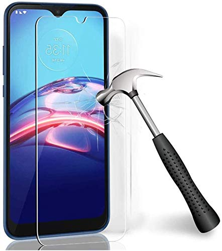 2Pack Glass Screen Protector Compatible with Moto G9 Play, Moto E7 Plus, Premium Tempered Glass Screen Protector for Motorola G9 Play 9H Hardness, 0.3mm Thick