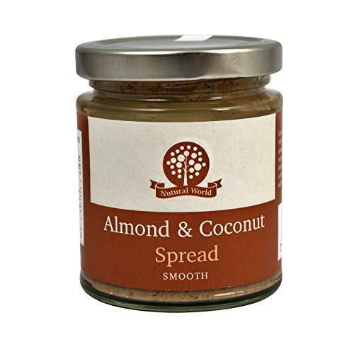Nutural World - Aderezo suave de almendra y coco (170) Galardonado al mejor saborwinner