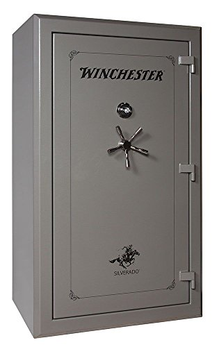 Winchester Silverado 51, 48 Gun Capacity Gun Safe- Gun Metal Dial