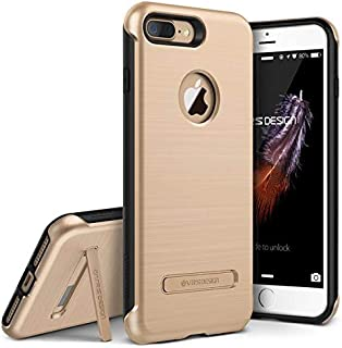 iPhone 7 Plus Case, VRS Design [Duo Guard Series] Heavy Duty Military Grade Protection with Metal Kickstand for Apple iPhone 7 Plus 2016 - Champagne Gold