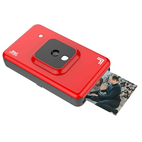 """Find Bargain Sharper Image 2 in 1 Wireless Instant Film Camera and Photo Printer, 2.1"""" x 3.4"""" 