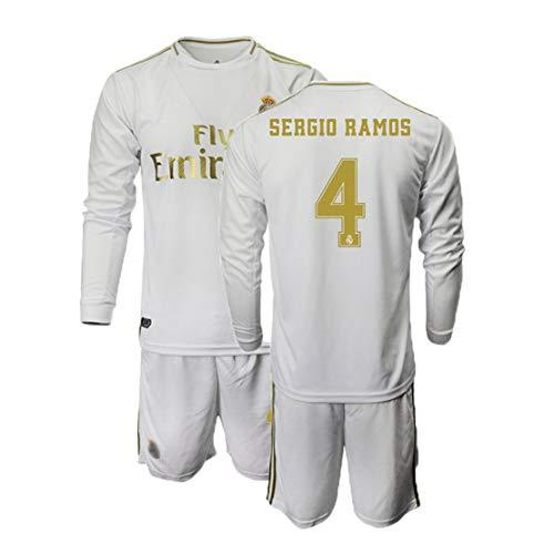 Ramos 4,fußball Uniform Set, Kinder Fußball Uniform, Männer Fußball Uniform,kann Angepasst Werden, Trikot + Shorts
