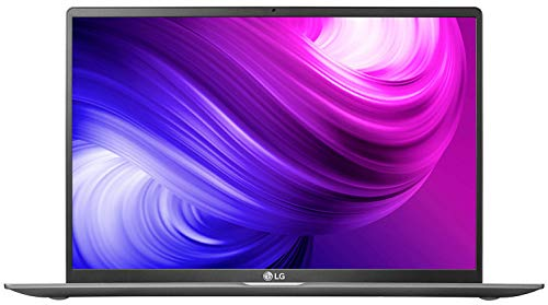 LG Gram 10th Gen Intel Core i7-1065G7 17-inch IPS WQXGA (2560X1600) Thin and Light Laptop (8GB/512GB SSD/Windows 10 64-bit/Dark Silver/1.35kg), 17Z90N