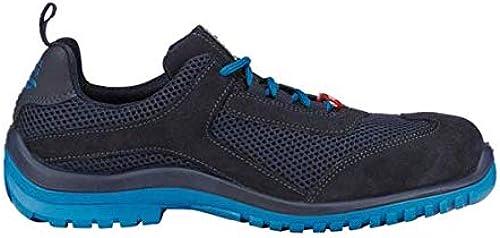 Enjauneert Strauss 8P93.72.5.44 Naos Chaussures de sécurité Bleu foncé Atoll 44