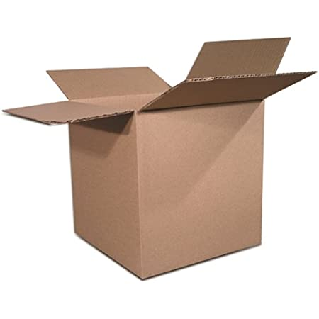 200 EcoSwift 6x4x4 Corrugated Cardboard Shipping Boxes Mailing Moving Packing Carton Box 6 x 4 x 4 inches