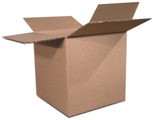 The Packaging Wholesalers 8 x 8 x 8 Inches Shipping Boxes, 25-Count (BS080808),Kraft