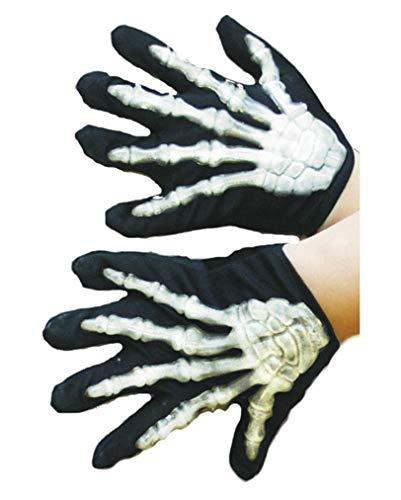 Horror-Shop Gants Skeleton enfants
