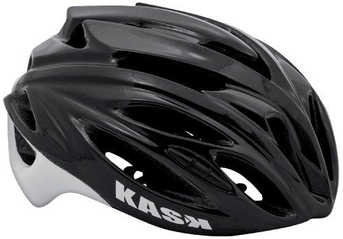 Kask Rapido - Casco para Bicicleta de Carretera, Color Negro, Talla M (48-58 cm),Talla M (48-58 cm)