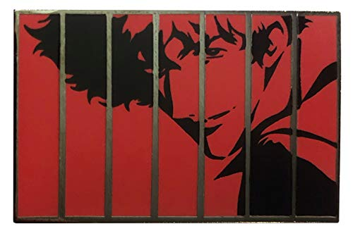 Red Panel Spike (Opening Theme Song) - Cowboy Bebop Collectible Pin