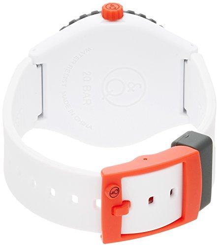 『[キューアンドキュー スマイルソーラー]Q&Q SmileSolar 腕時計 20BAR シリーズ ホワイト RP04-006 メンズ』の1枚目の画像