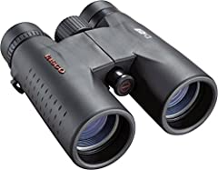 10 times magnification and a large 42mm objective lens Multi-coated lenses 293' field of view and 16mm eye relief Weighs 23.2 ounces Twist up eyecups Sport type: Hunting