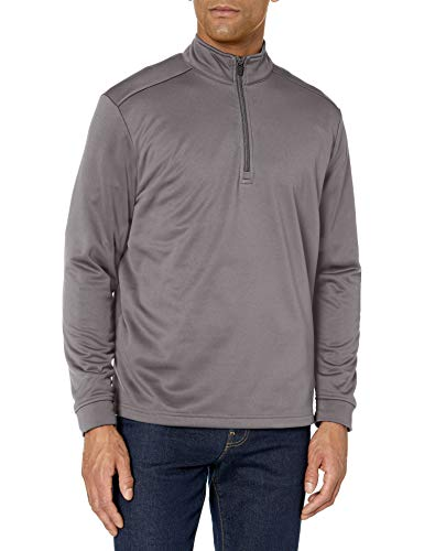 Best Review Of PGA TOUR Men's Elements Long Sleeve 1/4 Zip Pullover Jackets