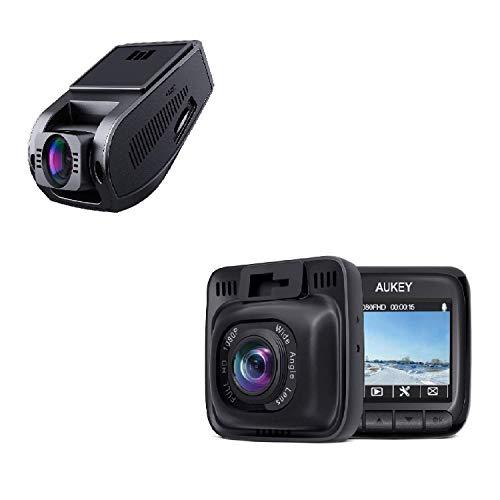 AUKEY DR02 FHD 1080p Supercapacitor Dash Cam & AUKEY DR01 AUKEY Dash Cam Full HD 1080P Dash Camera