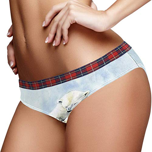 TIZORAX Polar Beer Familie Vrouwen Ondergoed Bikini Mode Dames Korte Panties
