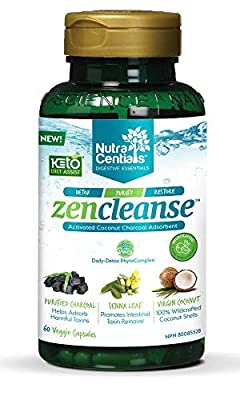NUVOCARE Zencleanse with Activated Charcoal, 60 CT by Nuvocare Of America Llc