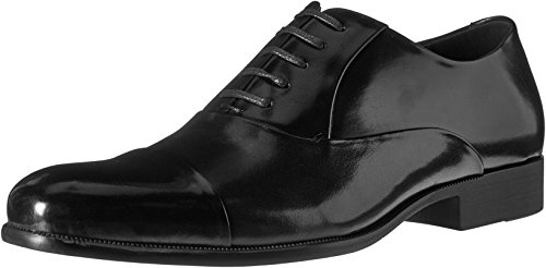 Kenneth Cole New York Men's Command Chief Cap Toe Shoe Oxford, Cognac, 10.5 M US