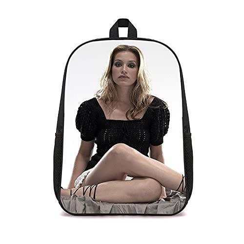 DUANGONGZI Lunch Bag Piper Perabo modello Unisex Daypack Casual Daypack 16 pollici Zaino stampato alla moda