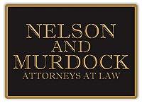 ネルソン&マードック弁護士 金属板ブリキ看板警告サイン注意サイン表示パネル情報サイン金属安全サイン