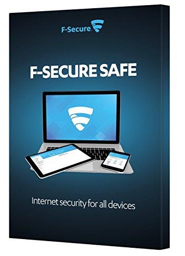F-Secure Caja de seguridad de seguridad de Internet (1 año, 1 dispositivo) (PC   Mac   Android)
