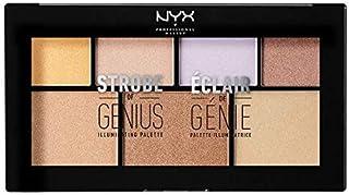 NYX Highlighter Palette, 01 Strobe Of Genius 20g