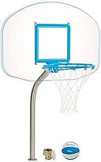 Dunnrite Deck Mounted Acrylic Pool Basketball Hoop