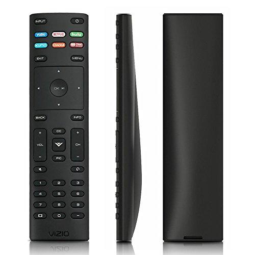 New USARMT Replaced Vizio XRT136 Remote with Hulu Netflix Vudu iHeart Radio, Crackle XUMO App Keys for for Vizio TV D50f-F1 D24f-F1 D43f-F1