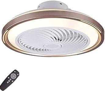 OUJIEOUJIE Ventilador De Techo con Iluminación LED Luz Regulable con Control Remoto Ajustable 3 Velocidades De Viento Techo Moderno Dormitorio Sala De Estar Comedor Candelabro