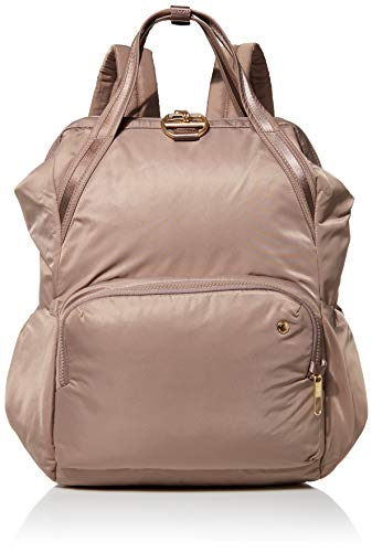 Pacsafe Citysafe CX Anti-Theft 17L Backpack, Blush Tan, One Size