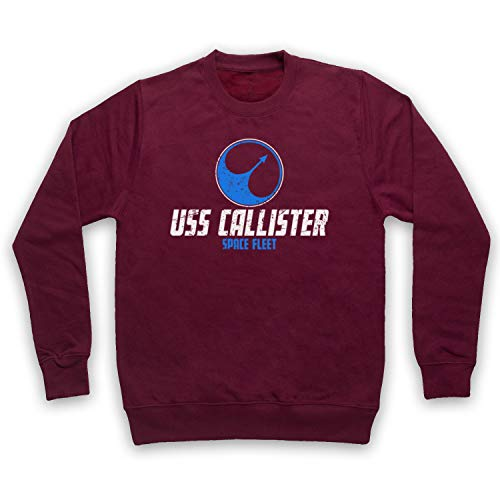 Mijn Icon Art & Kleding Zwarte Spiegel USS Callister Space Fleet Volwassenen Sweatshirt